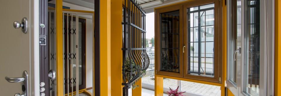Fantinelli serramenti per la casa porte finestre cancelli serramenti in alluminio in - Cancelli per porte finestre ...